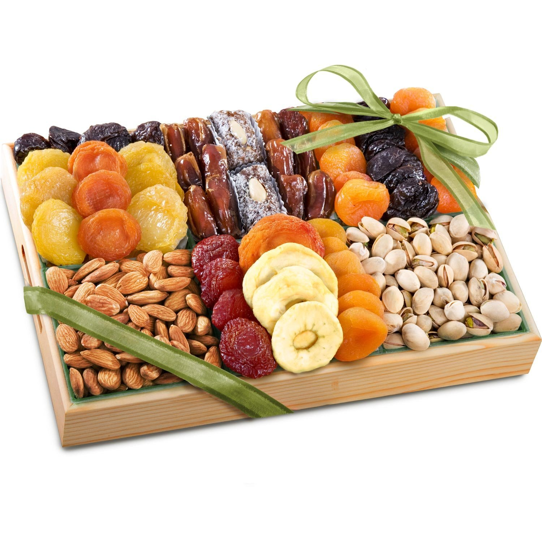 Подарки из орехов, сухофруктов, сладостей в красивой 1